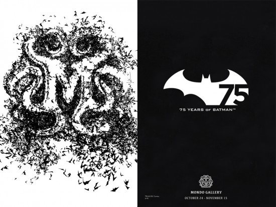 Batman 75 mondo gallery